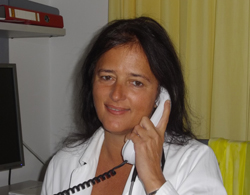Mrs.  Alexandra Diamantopoulos, M.D. - contact for cardiology